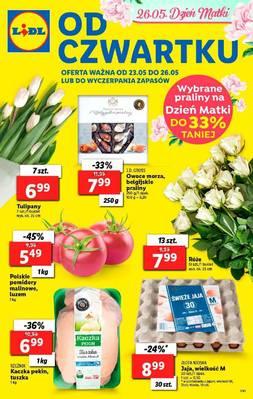 Lidl gazetka - od 23/05/2019 do 26/05/2019