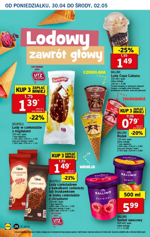 Gazetka promocyjna Lidl do 02/05/2018 str.25