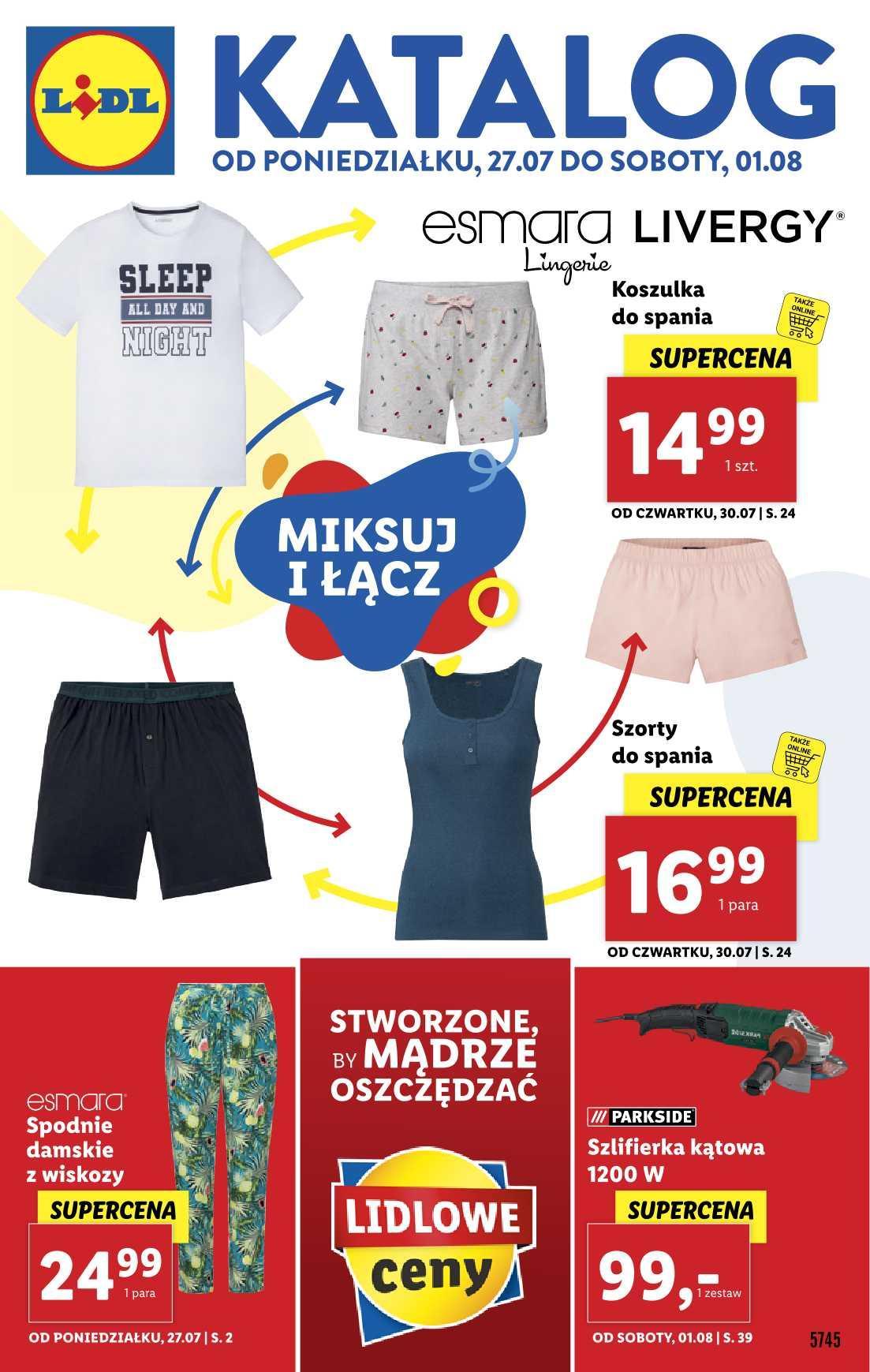 Gazetka promocyjna Lidl do 01/08/2020 str.1