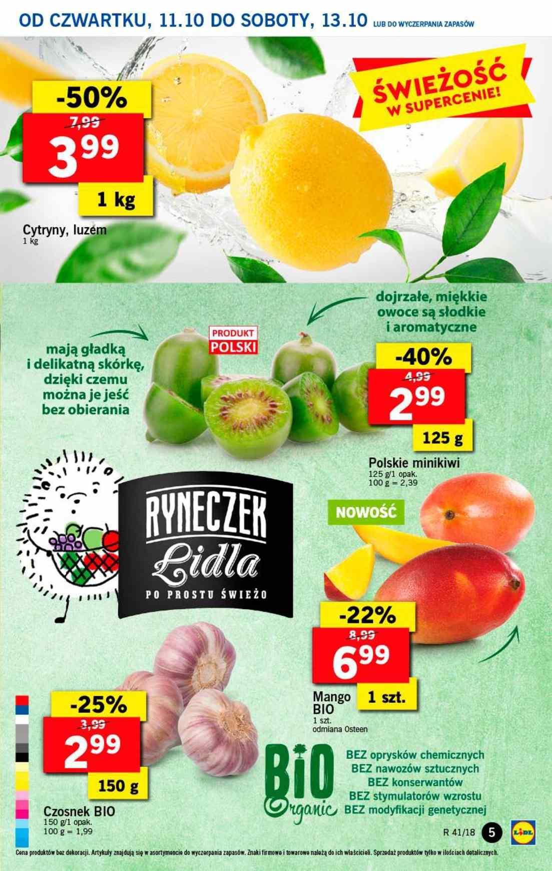 Gazetka promocyjna Lidl do 13/10/2018 str.4