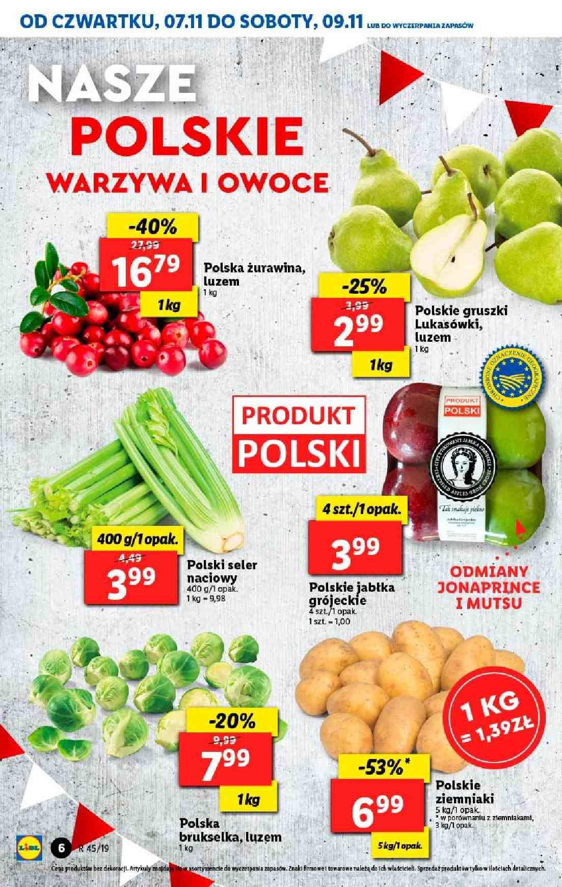 Gazetka promocyjna Lidl do 09/11/2019 str.6