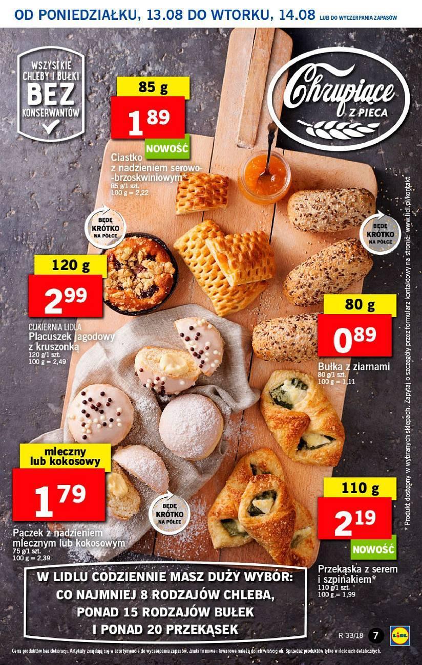 Gazetka promocyjna Lidl do 14/08/2018 str.6