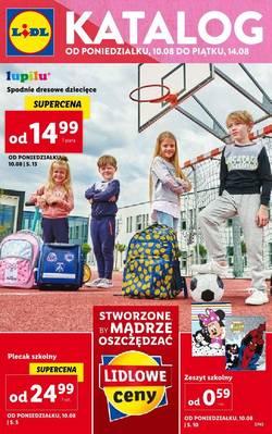 Lidl gazetka - od 10/08/2020 do 15/08/2020