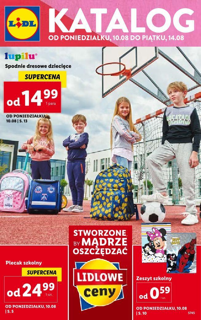 Gazetka promocyjna Lidl do 15/08/2020 str.1