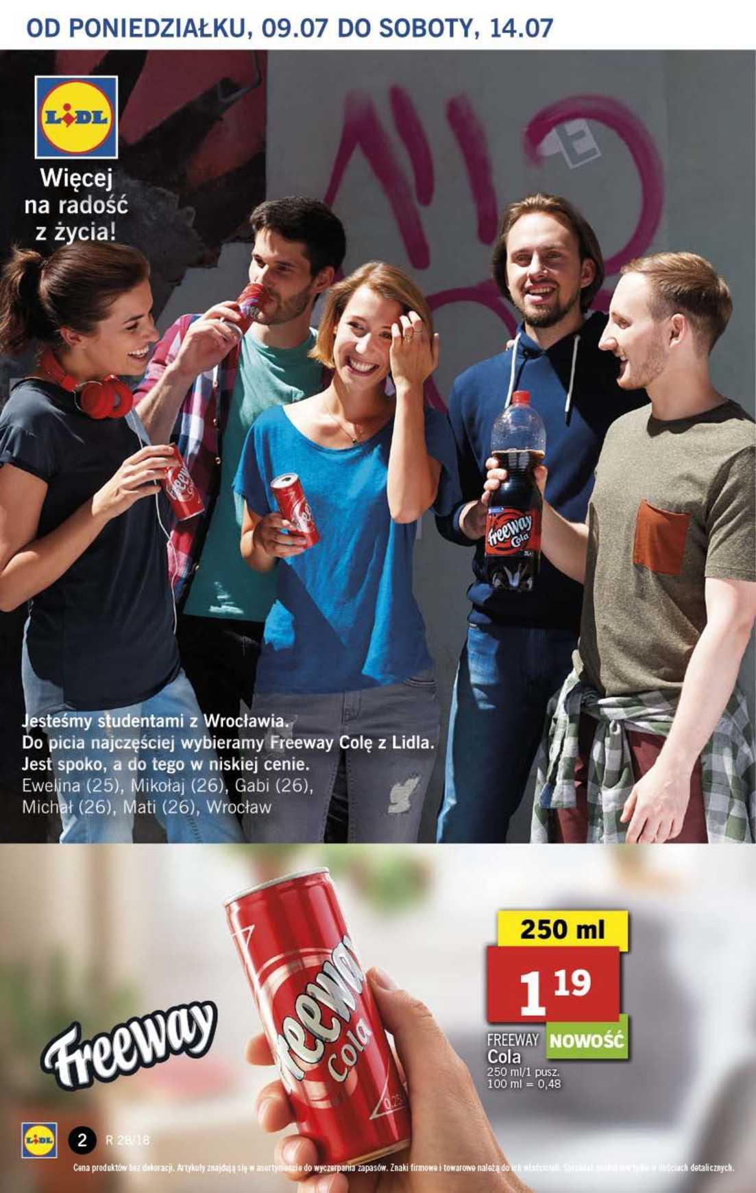 Gazetka promocyjna Lidl do 11/07/2018 str.2