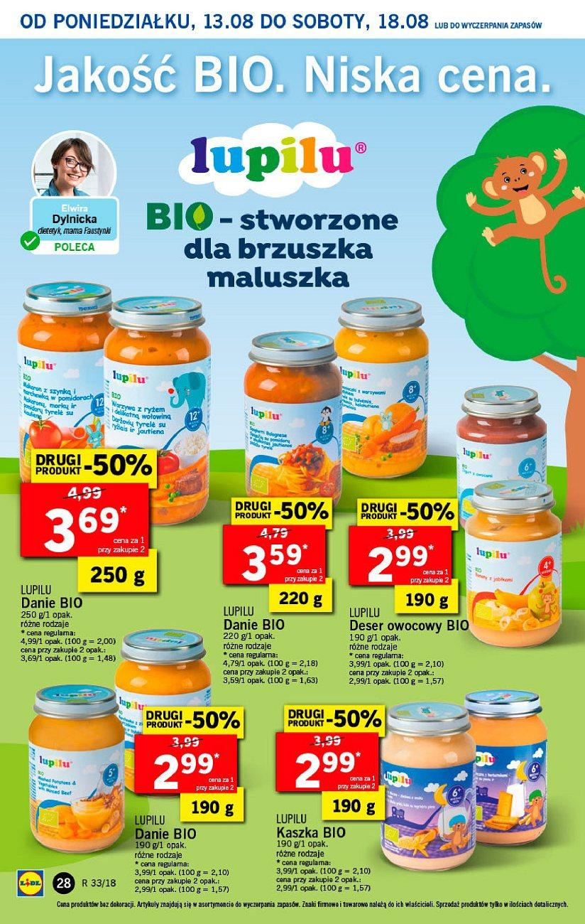 Gazetka promocyjna Lidl do 14/08/2018 str.28