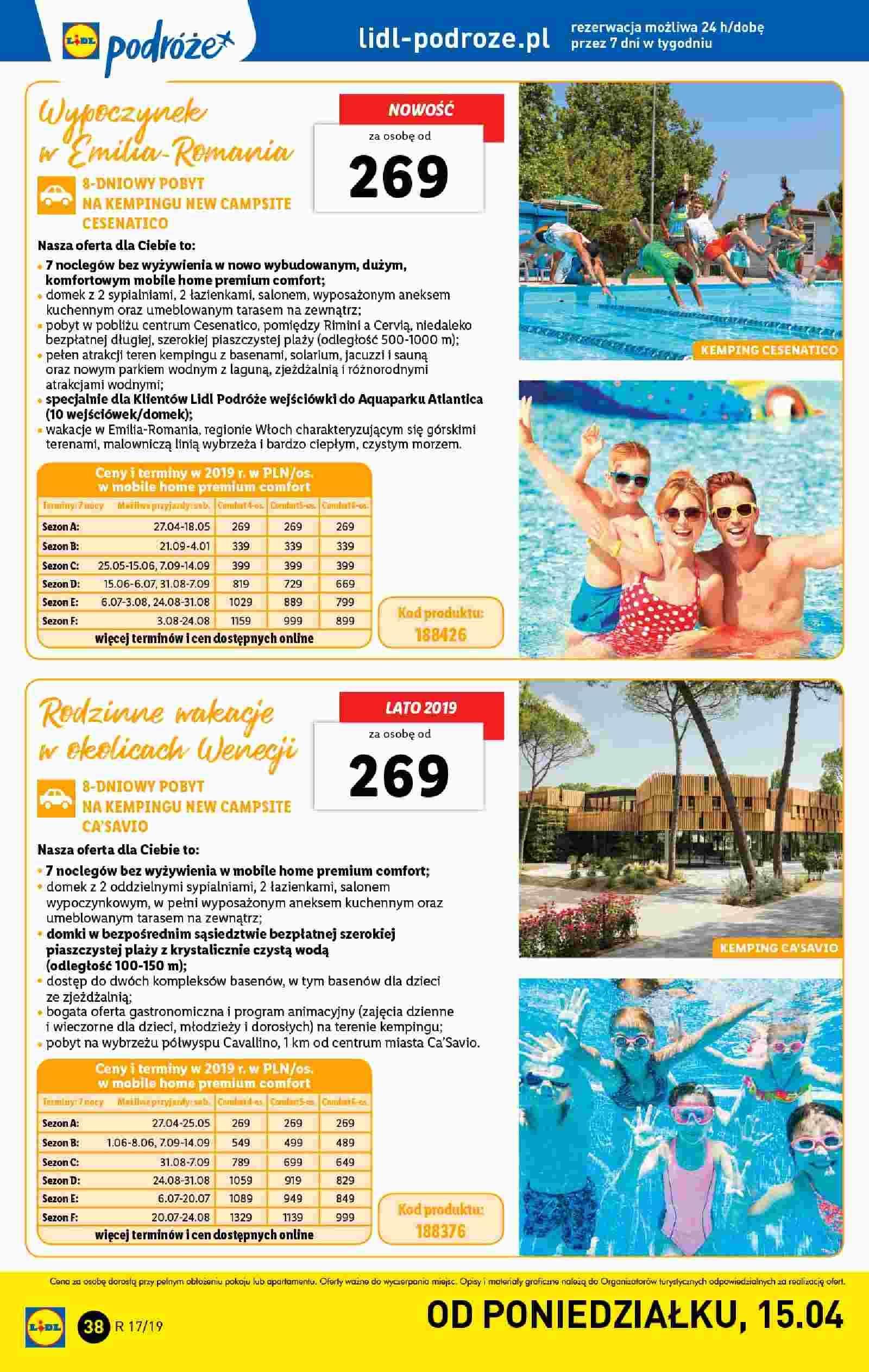 Gazetka promocyjna Lidl do 28/04/2019 str.38