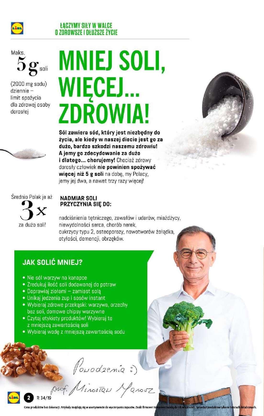 Gazetka promocyjna Lidl do 21/08/2019 str.2