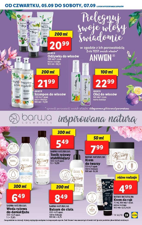 Gazetka promocyjna Lidl do 07/09/2019 str.38