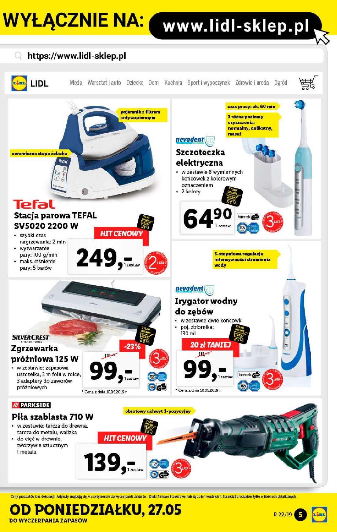 Gazetka promocyjna Lidl do 02/06/2019 str.5