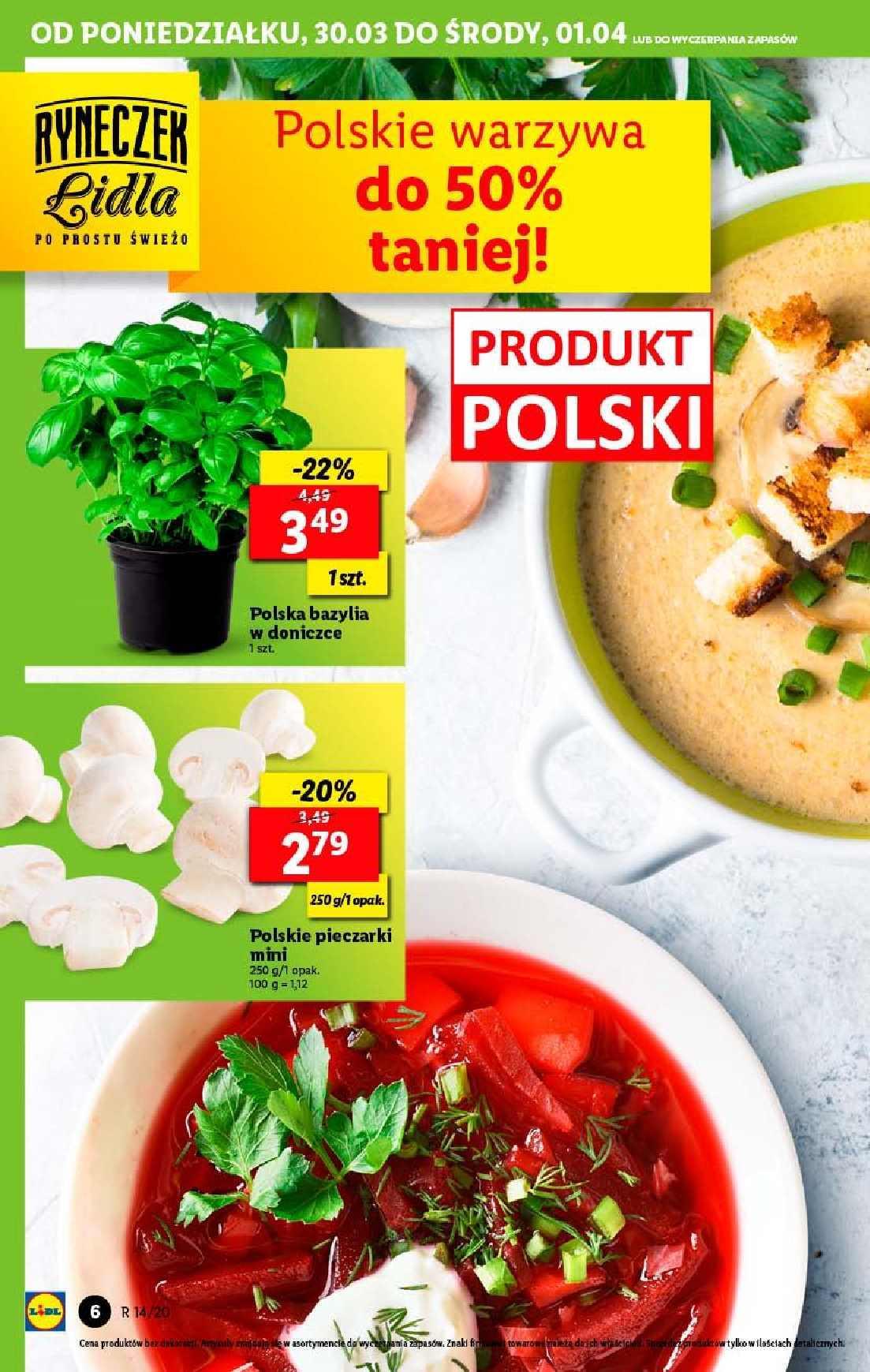 Gazetka promocyjna Lidl do 01/04/2020 str.6