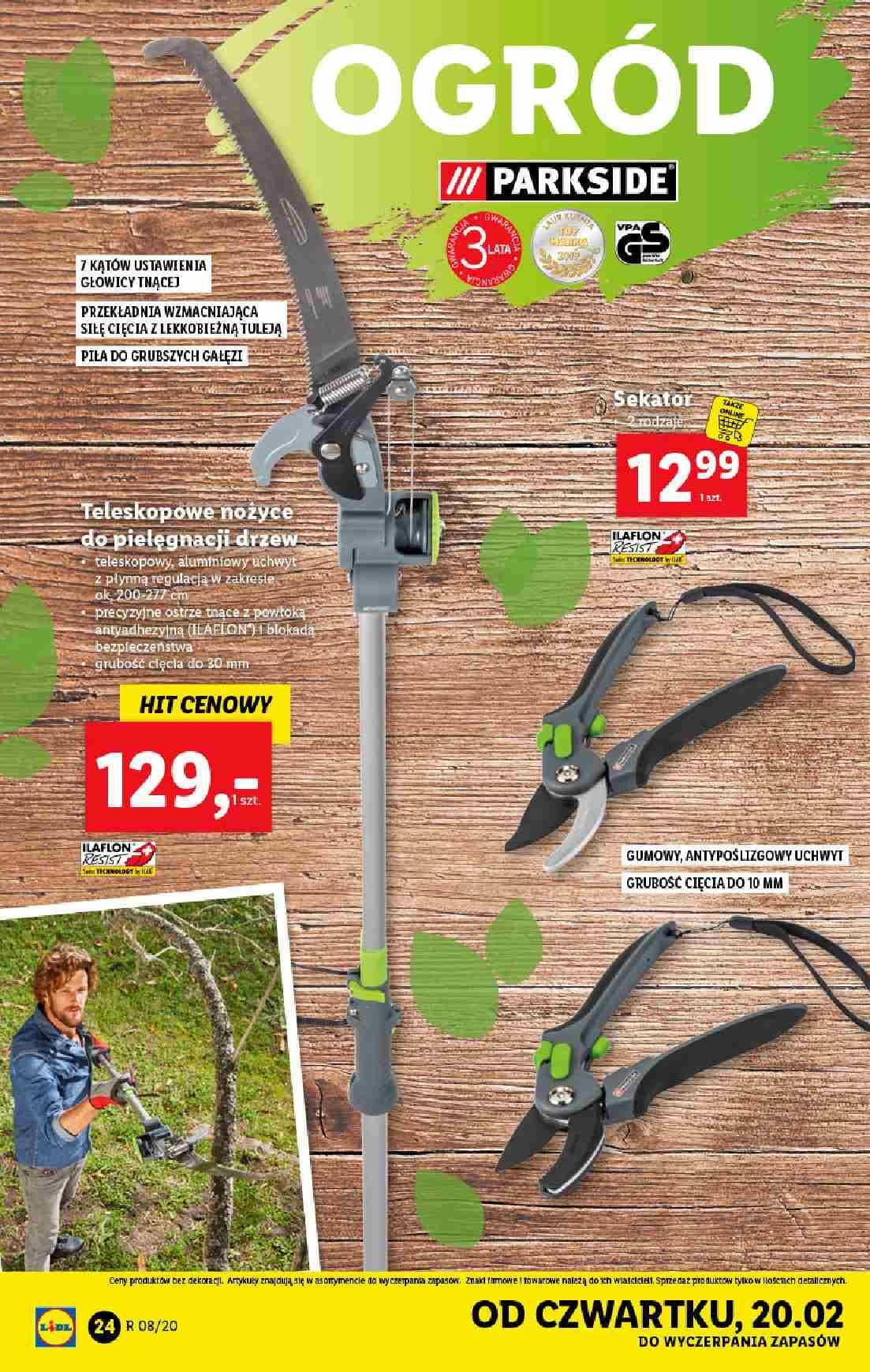 Gazetka promocyjna Lidl do 22/02/2020 str.24