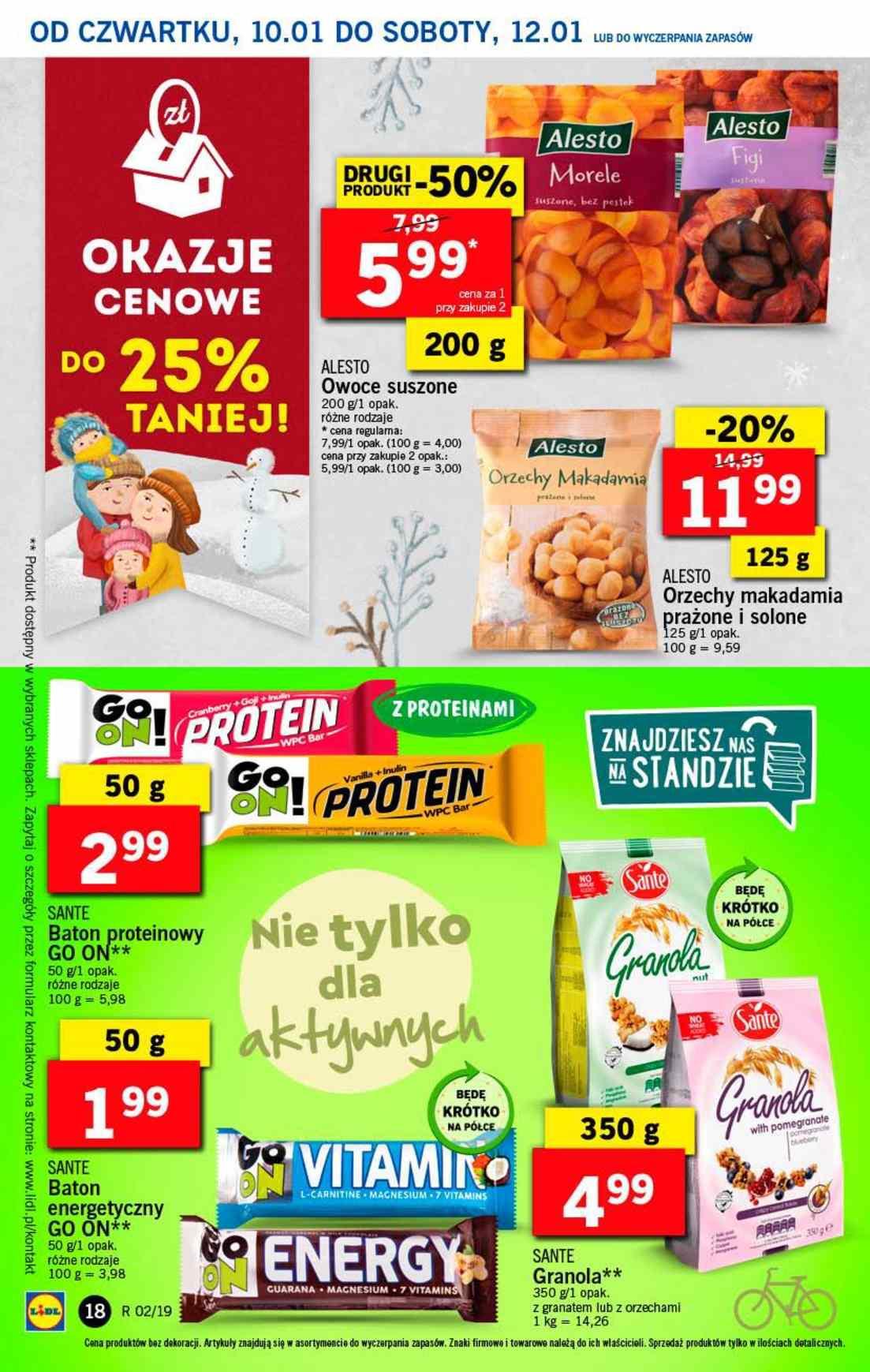 Gazetka promocyjna Lidl do 12/01/2019 str.18