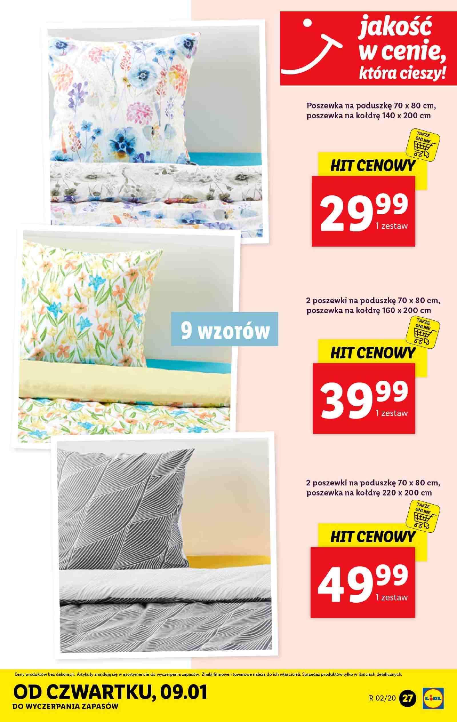 Gazetka promocyjna Lidl do 11/01/2020 str.27