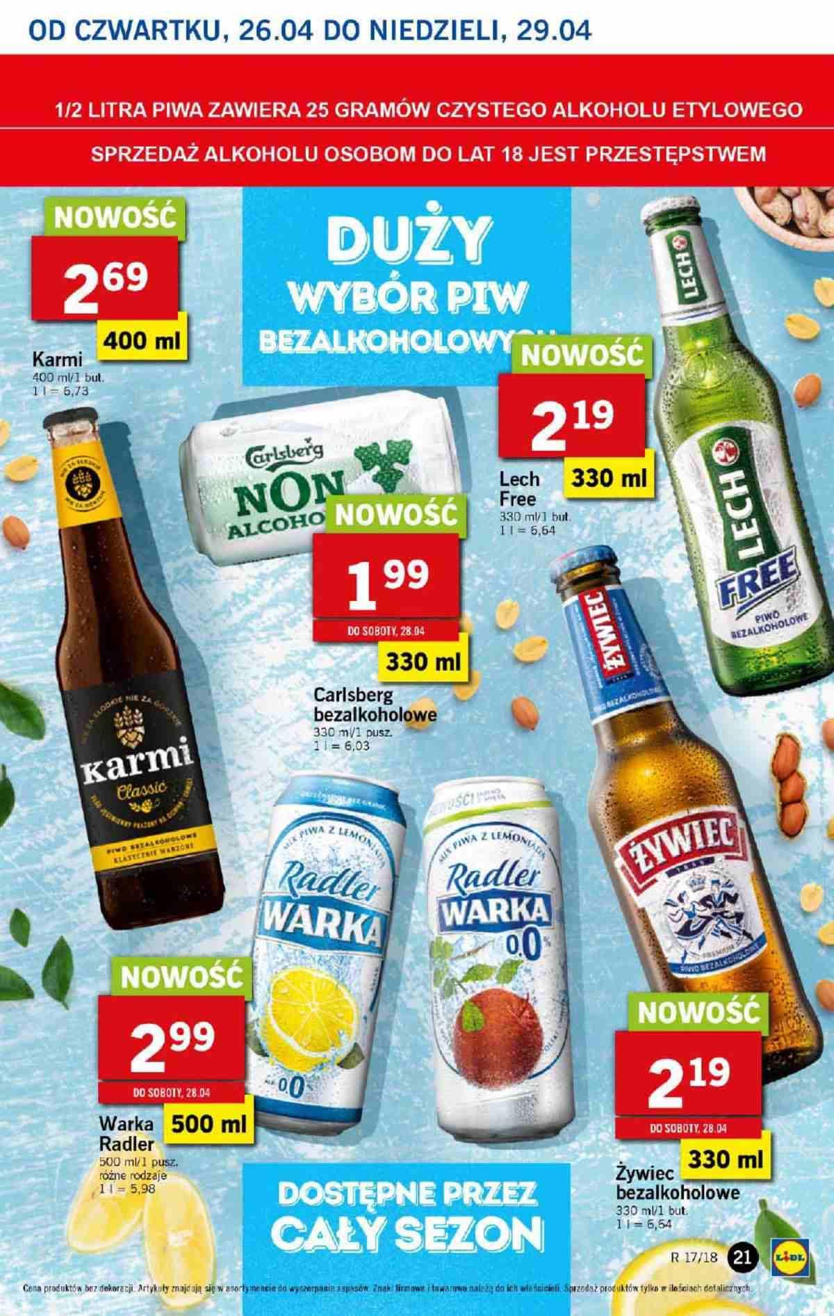 Gazetka promocyjna Lidl do 29/04/2018 str.20