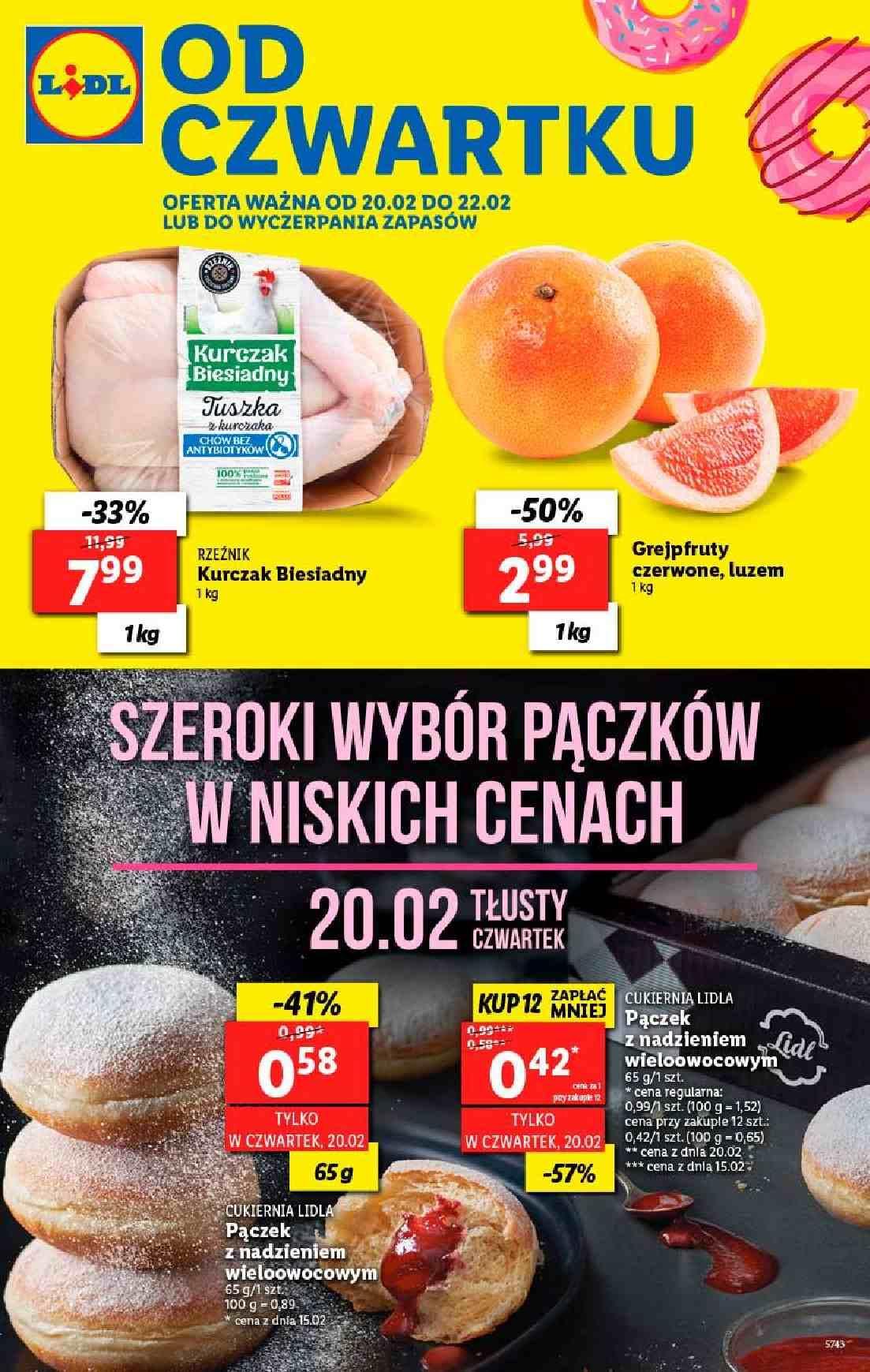 Gazetka promocyjna Lidl do 22/02/2020 str.1