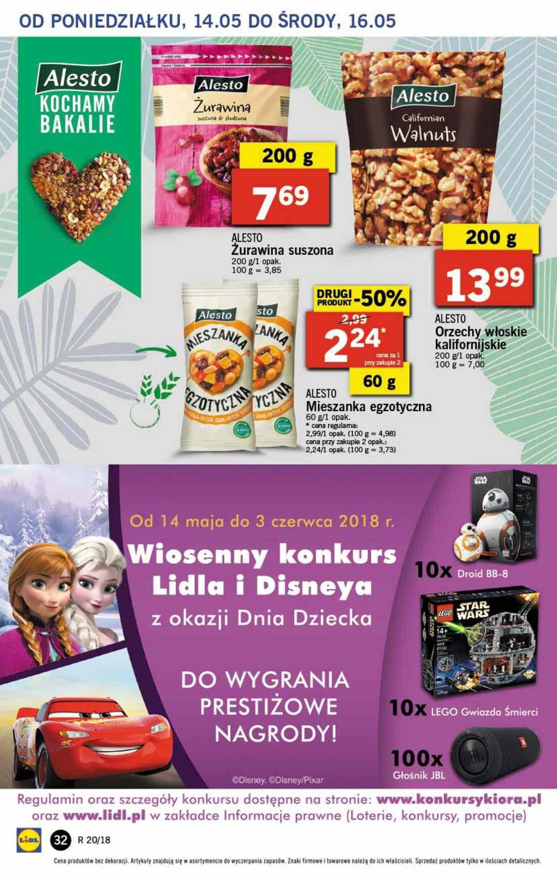 Gazetka promocyjna Lidl do 16/05/2018 str.32