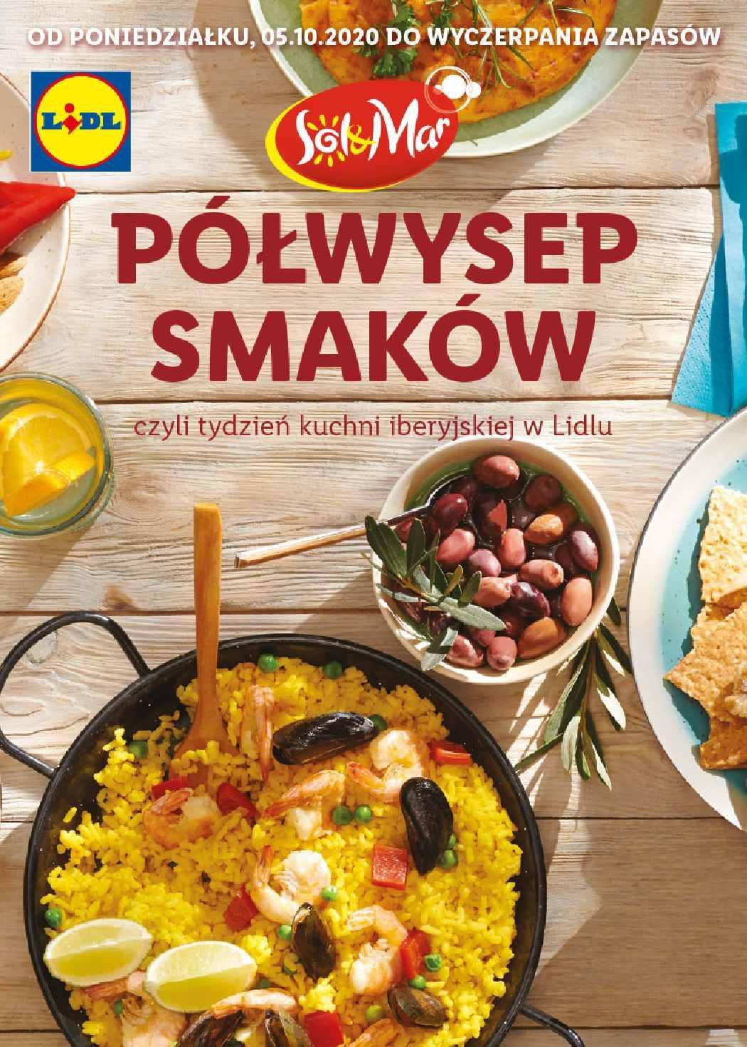 Gazetka promocyjna Lidl do 31/10/2020 str.1