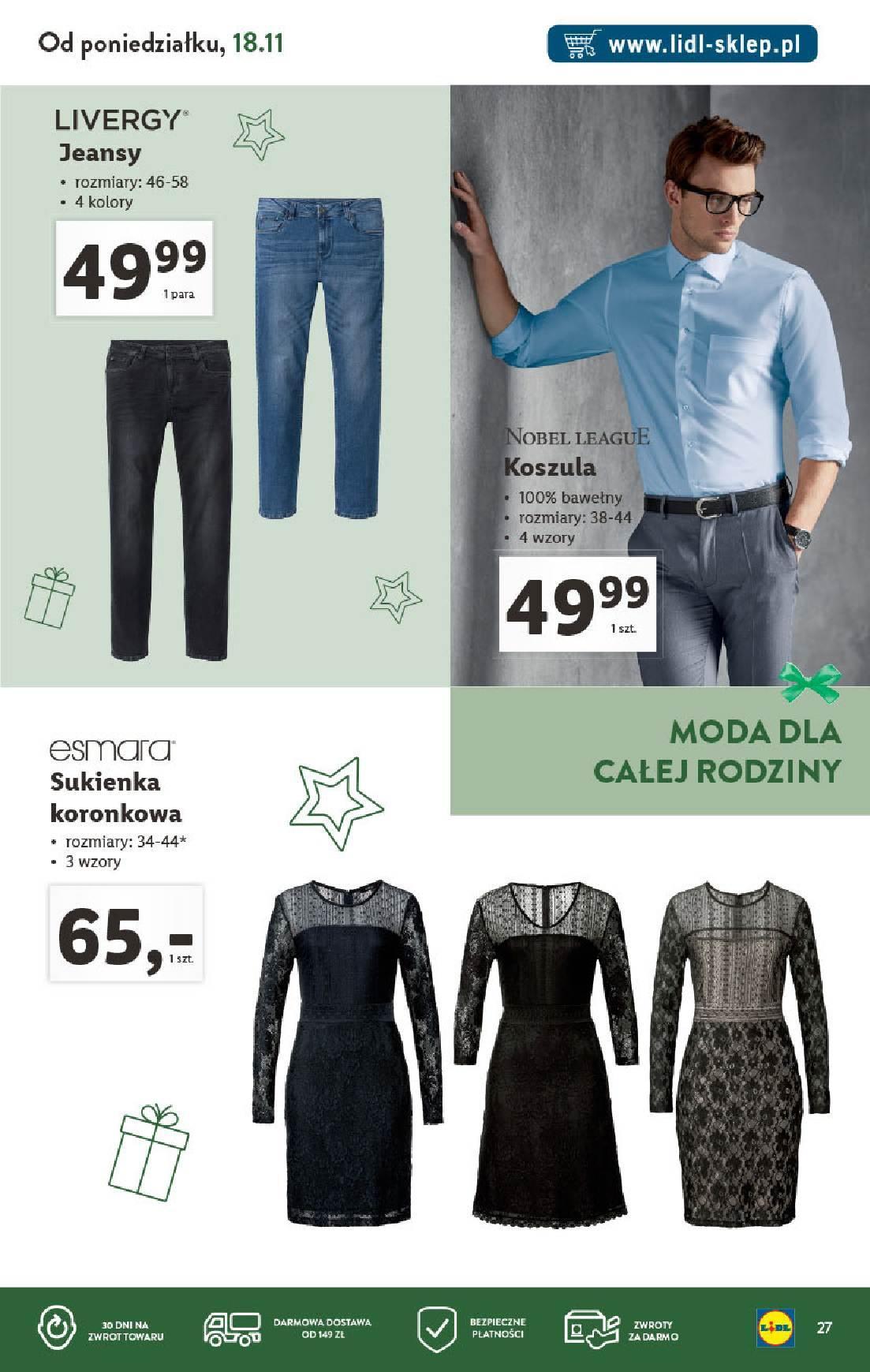 Gazetka promocyjna Lidl do 31/12/2019 str.27