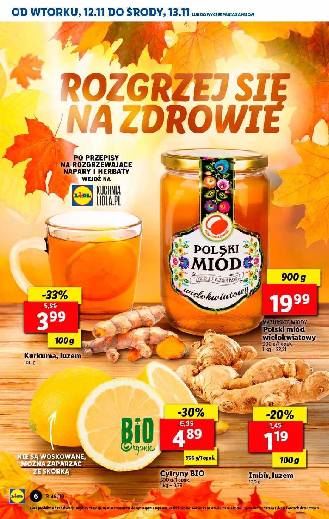 Gazetka promocyjna Lidl do 13/11/2019 str.6