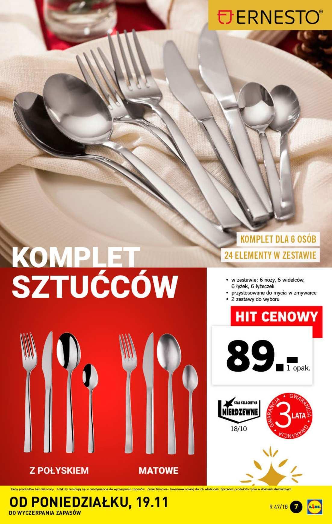 Gazetka promocyjna Lidl do 25/11/2018 str.7
