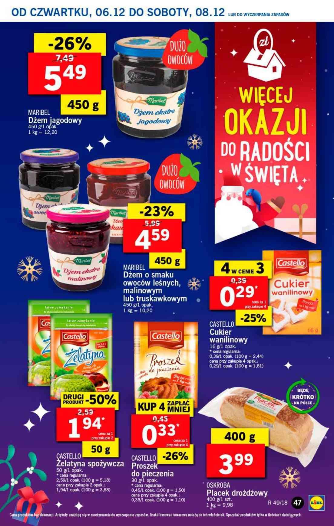 Gazetka promocyjna Lidl do 08/12/2018 str.47