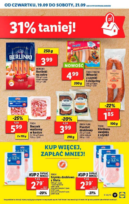 Gazetka promocyjna Lidl do 22/09/2019 str.16
