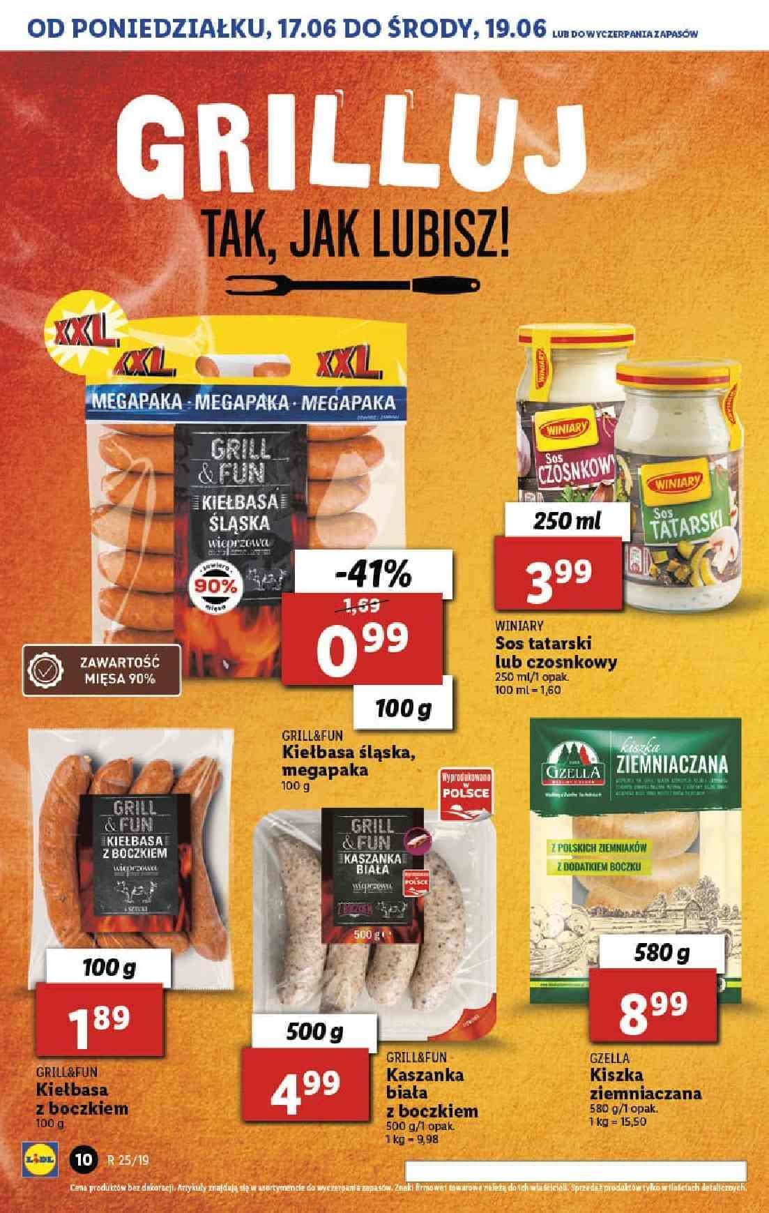 Gazetka promocyjna Lidl do 26/06/2019 str.10