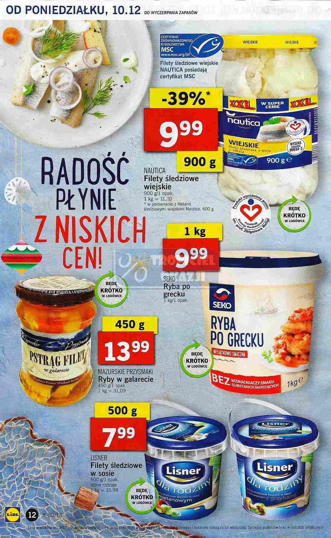 Gazetka promocyjna Lidl do 12/12/2018 str.12