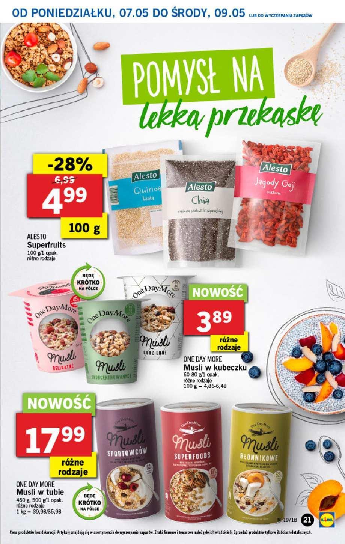 Gazetka promocyjna Lidl do 09/05/2018 str.20