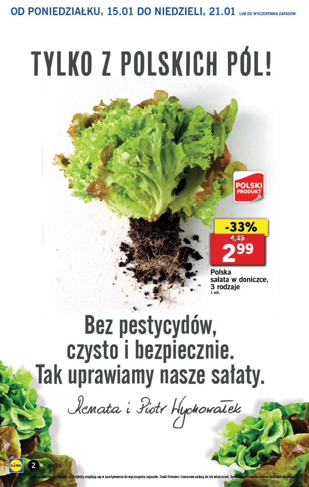 Gazetka promocyjna Lidl do 17/01/2018 str.1