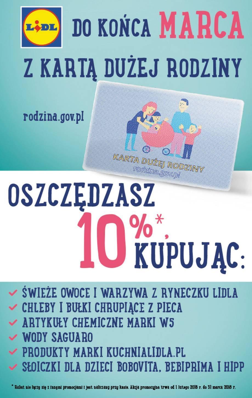 Gazetka Promocyjna I Reklamowa Lidl Gazetka Niebieska Od 19 03