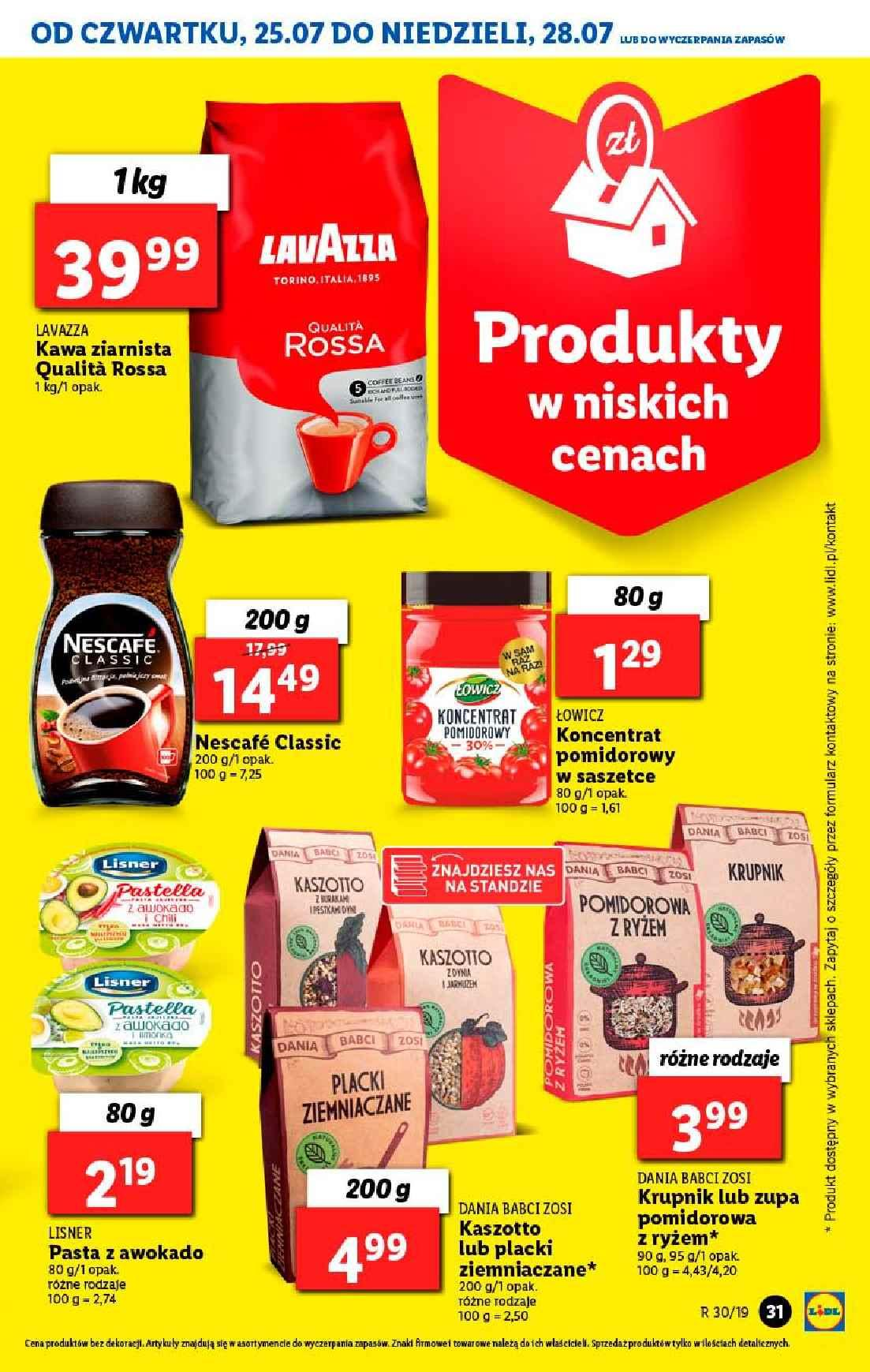 Gazetka promocyjna Lidl do 28/07/2019 str.31