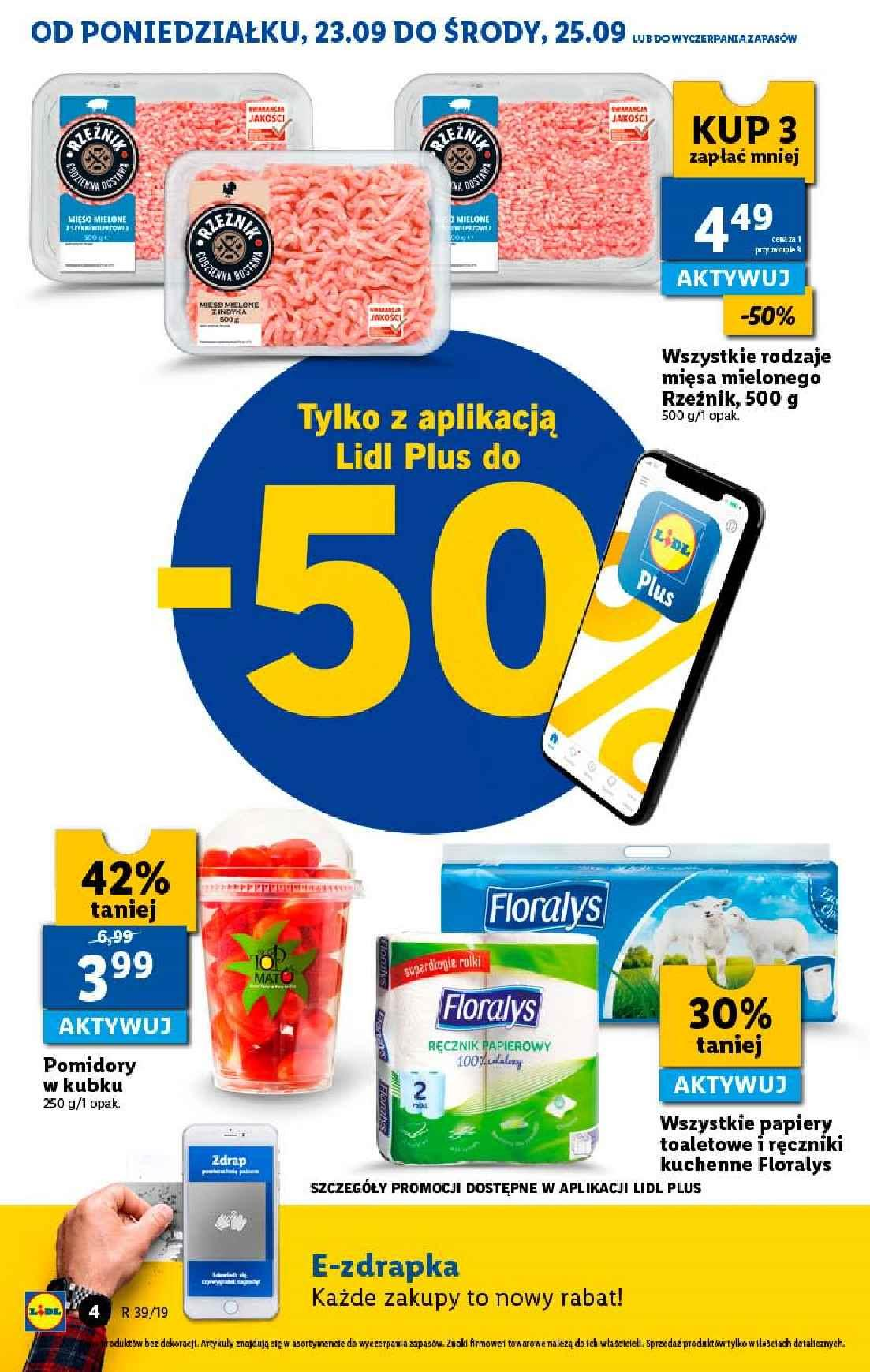 Gazetka promocyjna Lidl do 25/09/2019 str.4