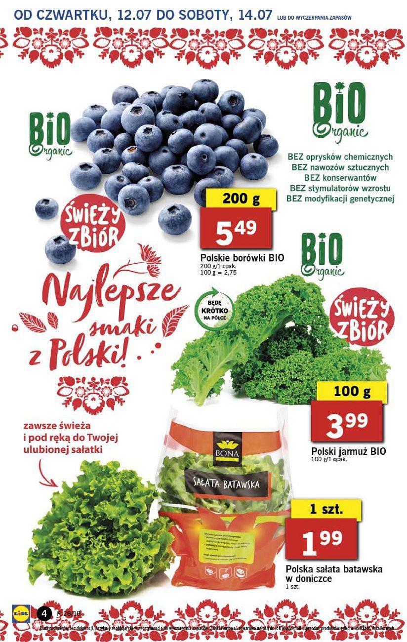 Gazetka promocyjna Lidl do 14/07/2018 str.4