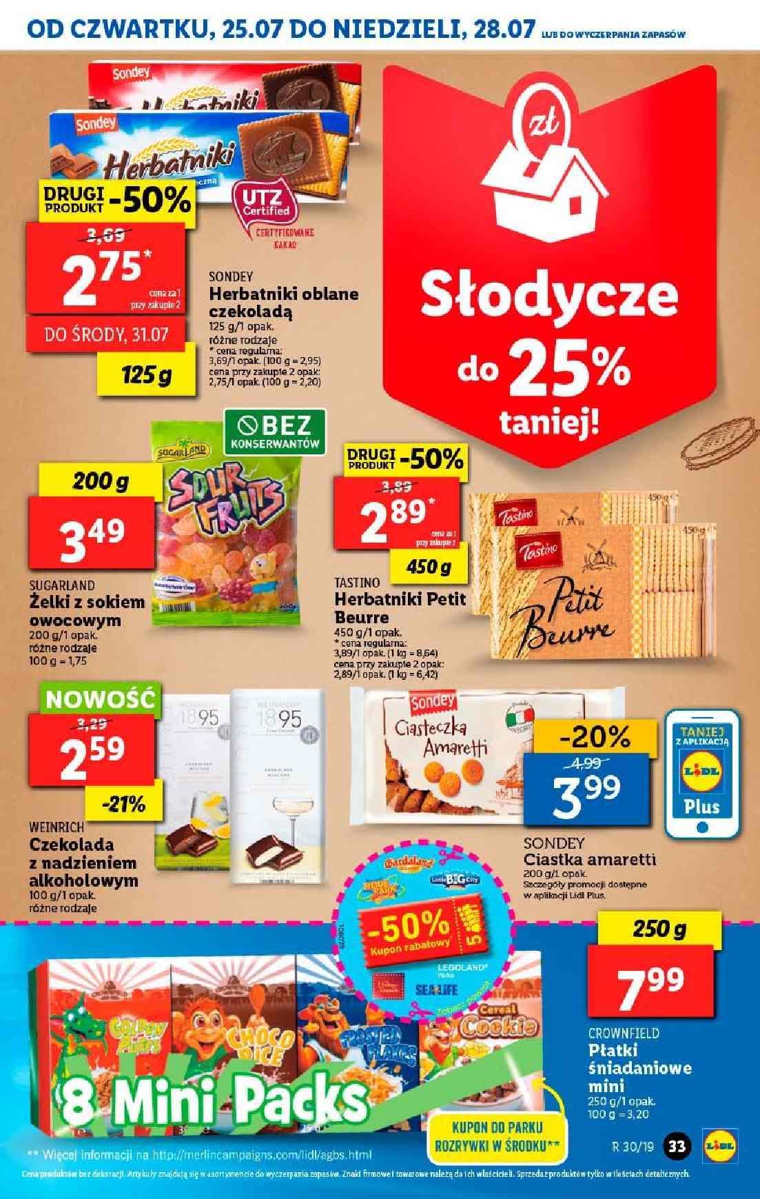 Gazetka promocyjna Lidl do 28/07/2019 str.33