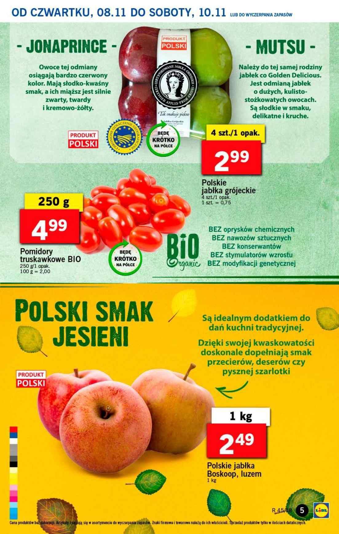 Gazetka promocyjna Lidl do 10/11/2018 str.5
