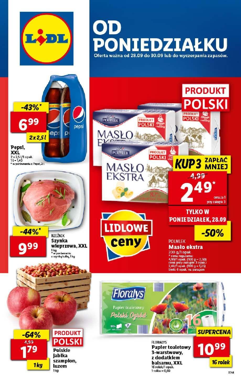 Gazetka promocyjna Lidl do 30/09/2020 str.1