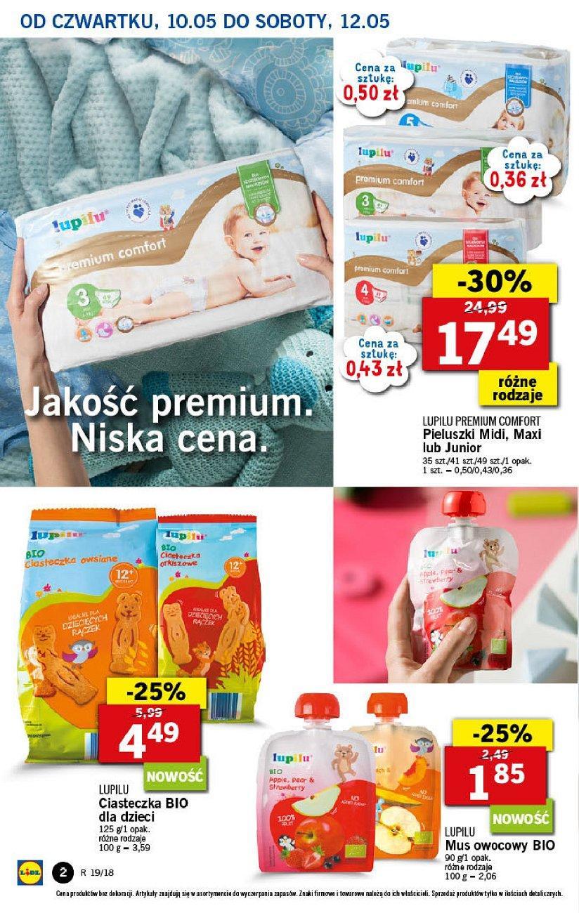Gazetka promocyjna Lidl do 12/05/2018 str.1