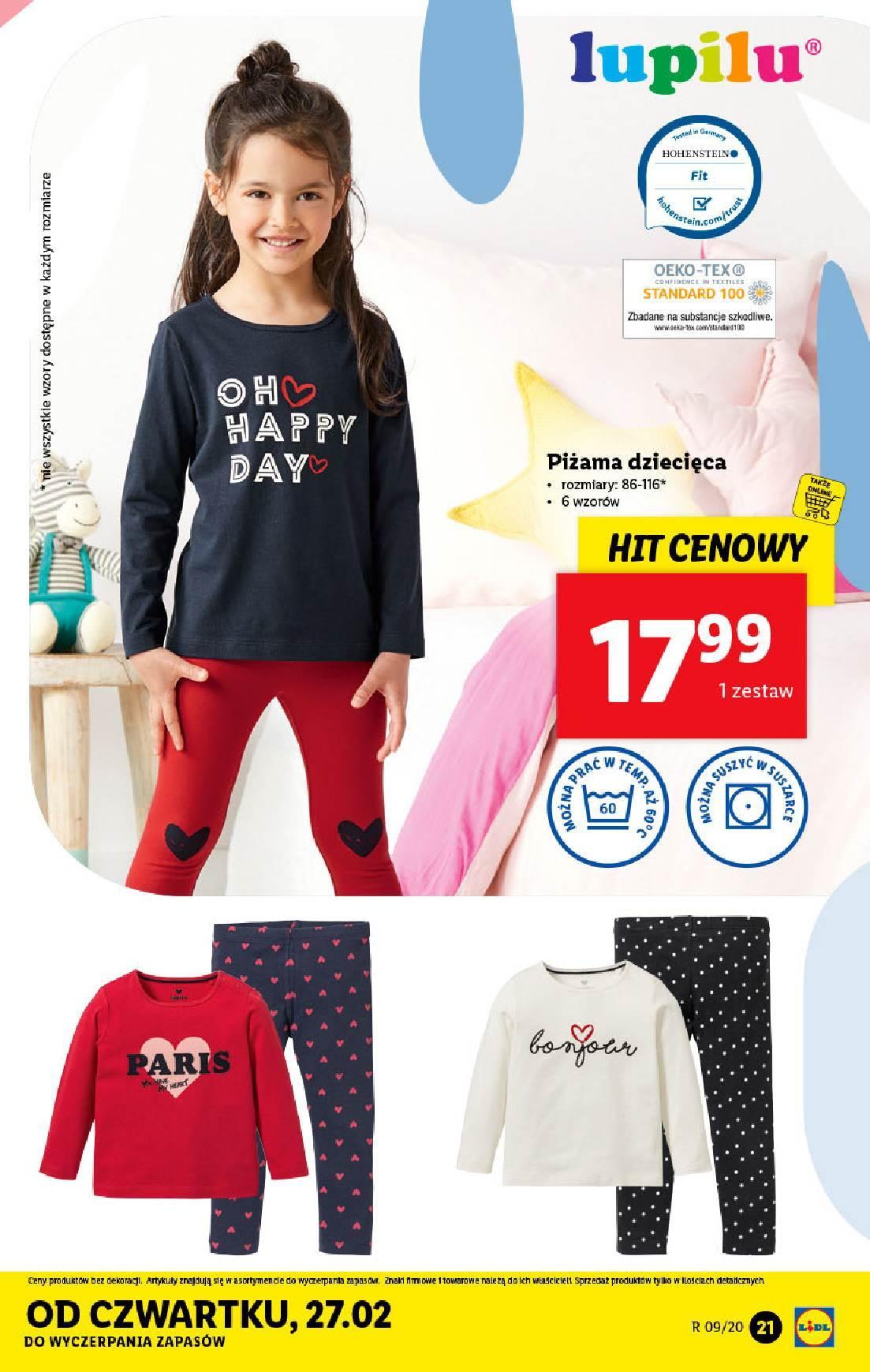 Gazetka promocyjna Lidl do 29/02/2020 str.21