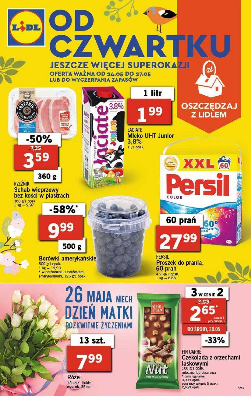 Gazetka promocyjna Lidl do 27/05/2018 str.0