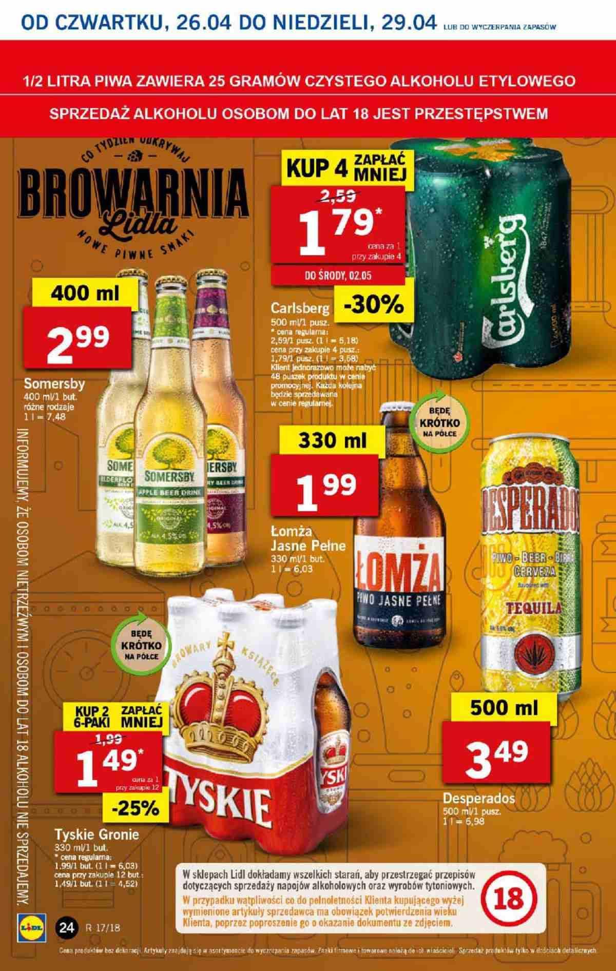 Gazetka promocyjna Lidl do 29/04/2018 str.23