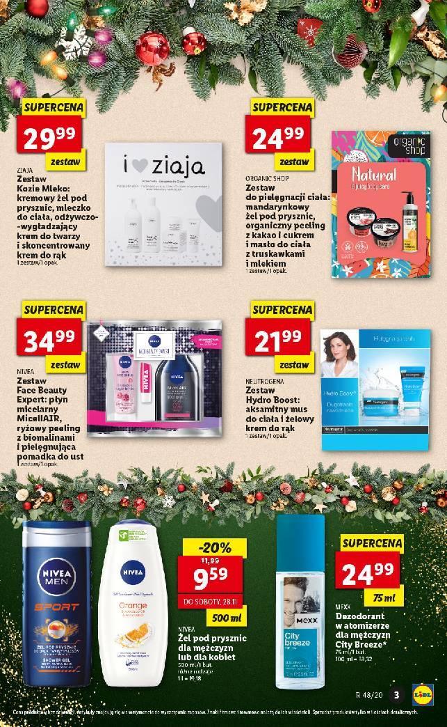 Gazetka promocyjna Lidl do 24/12/2020 str.3
