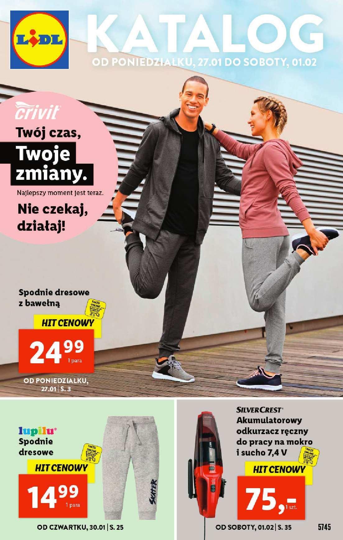 Gazetka promocyjna Lidl do 01/02/2020 str.1