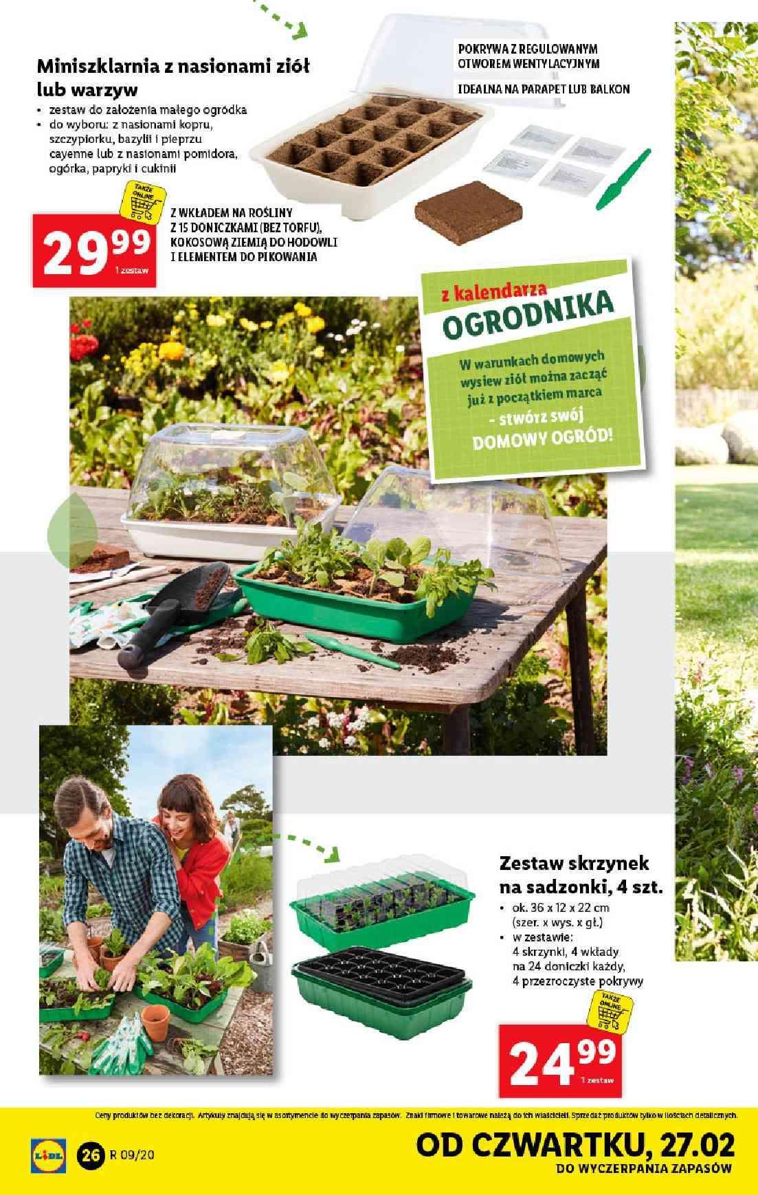 Gazetka promocyjna Lidl do 29/02/2020 str.26