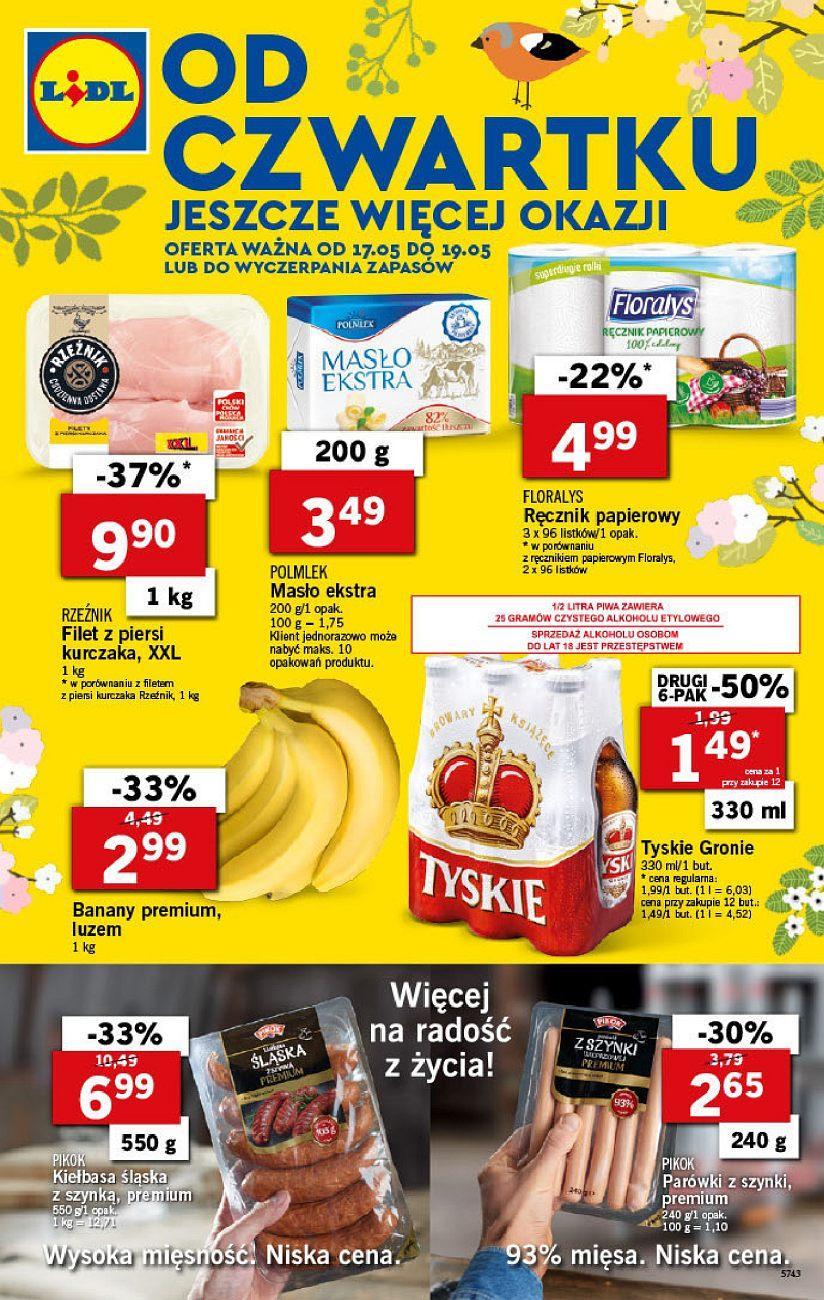 Gazetka promocyjna Lidl do 19/05/2018 str.0