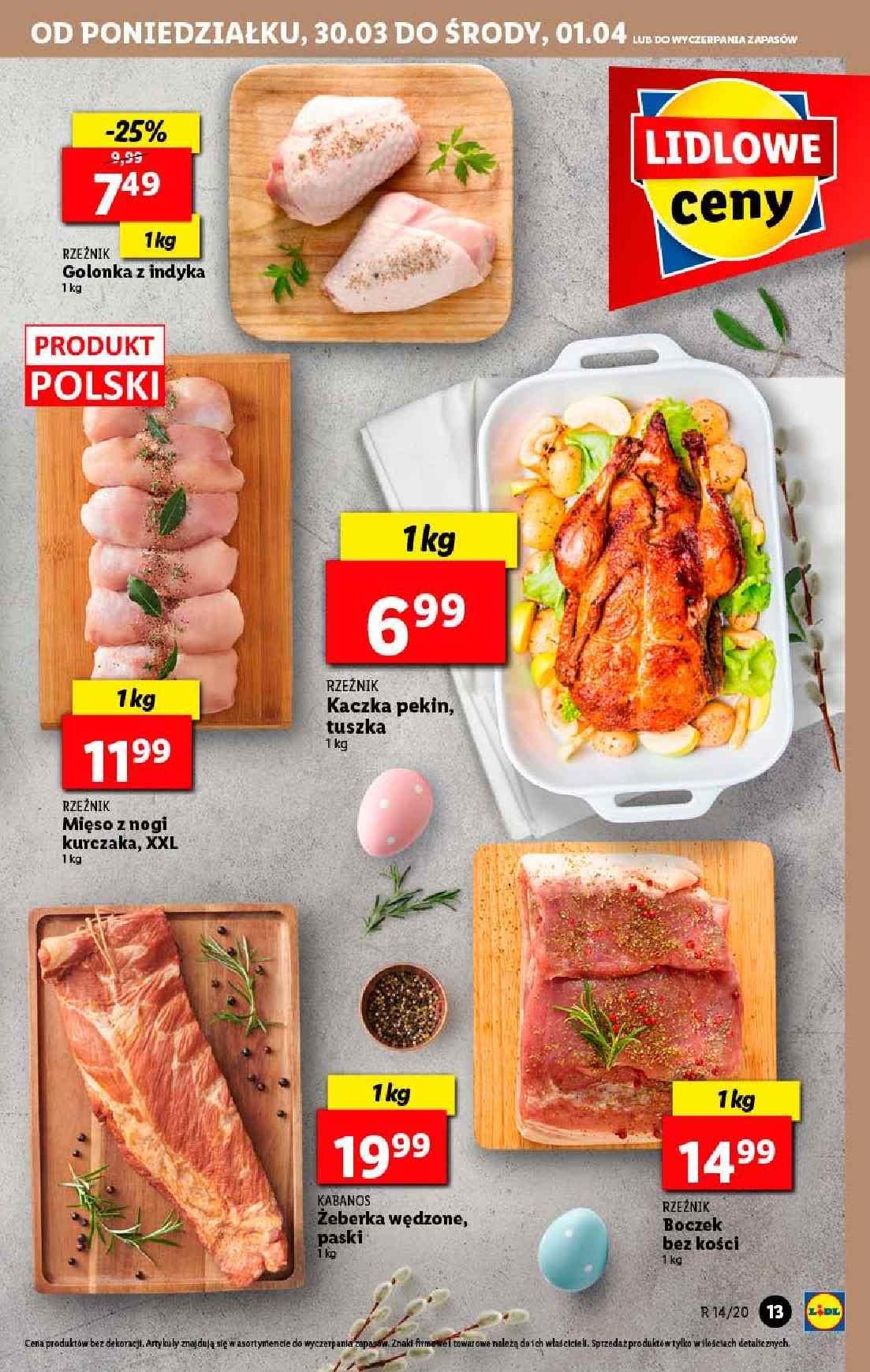 Gazetka promocyjna Lidl do 01/04/2020 str.13