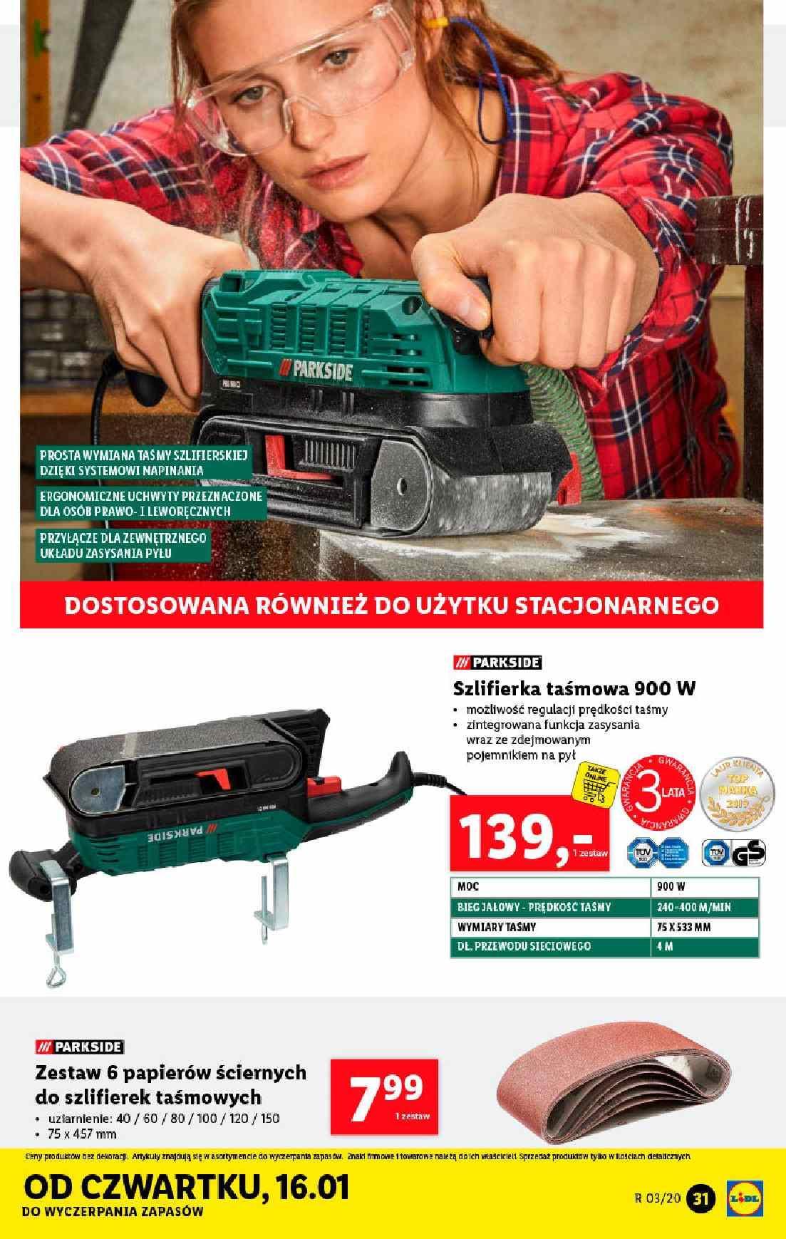 Gazetka promocyjna Lidl do 18/01/2020 str.31