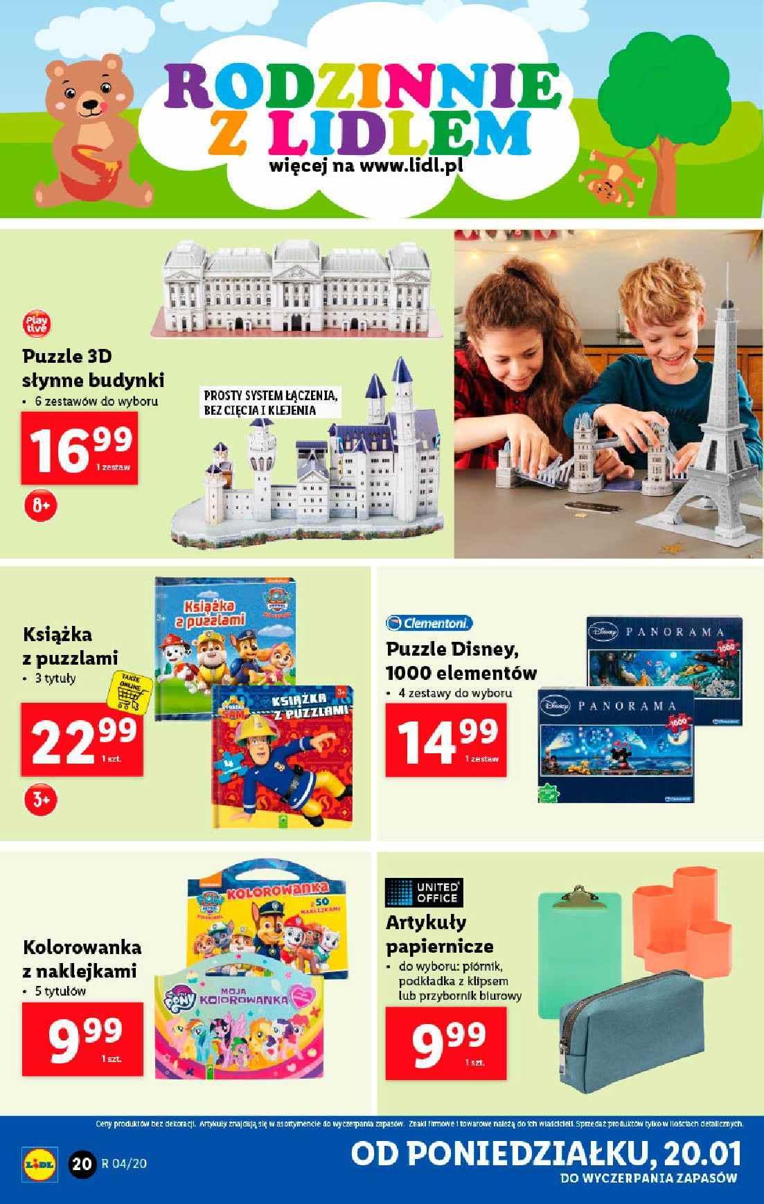Gazetka promocyjna Lidl do 26/01/2020 str.20