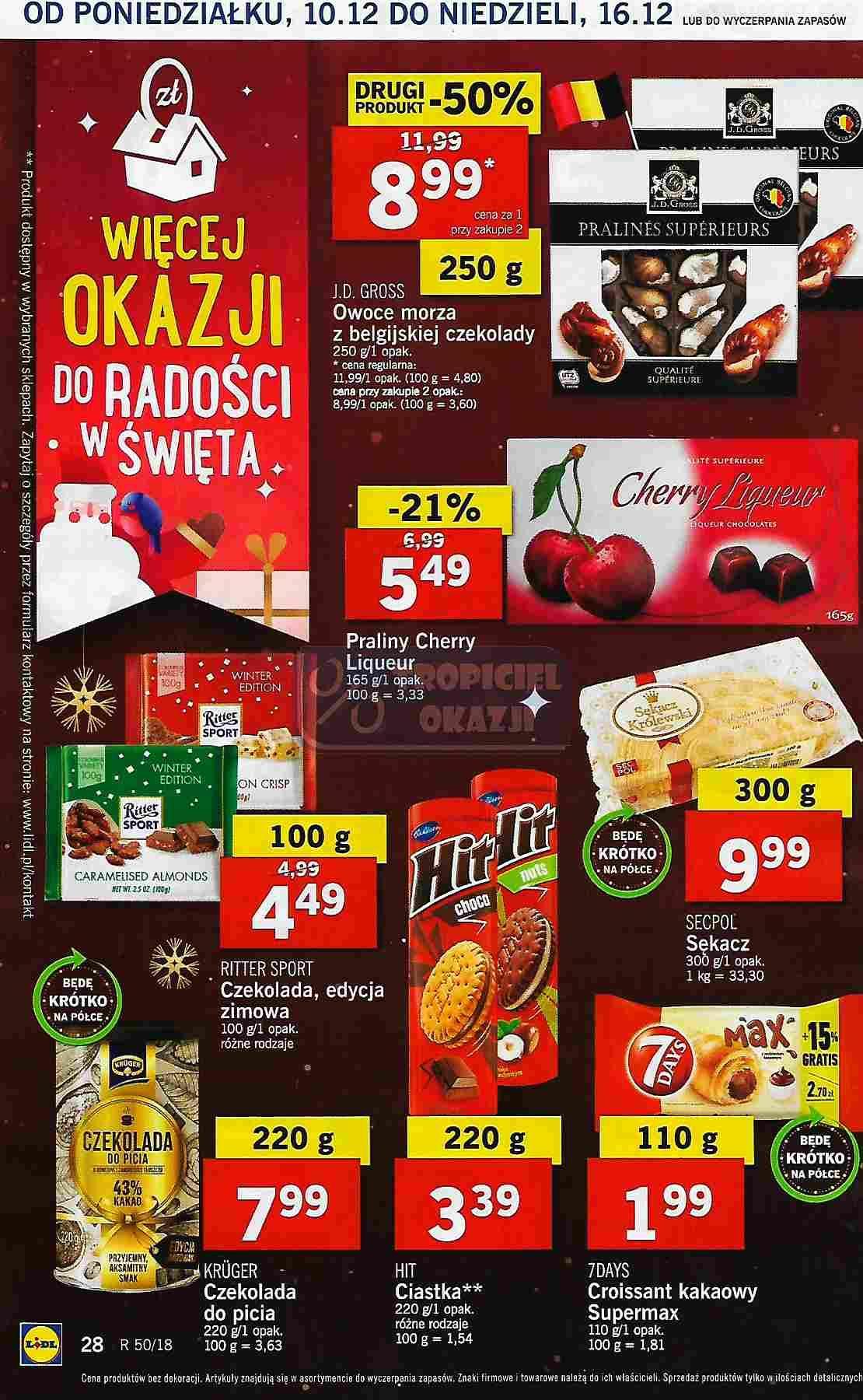 Gazetka promocyjna Lidl do 12/12/2018 str.28